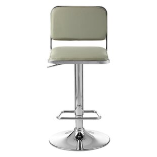 Rowena Height Adjustable Swivel Bar Stool By Ebern Designs