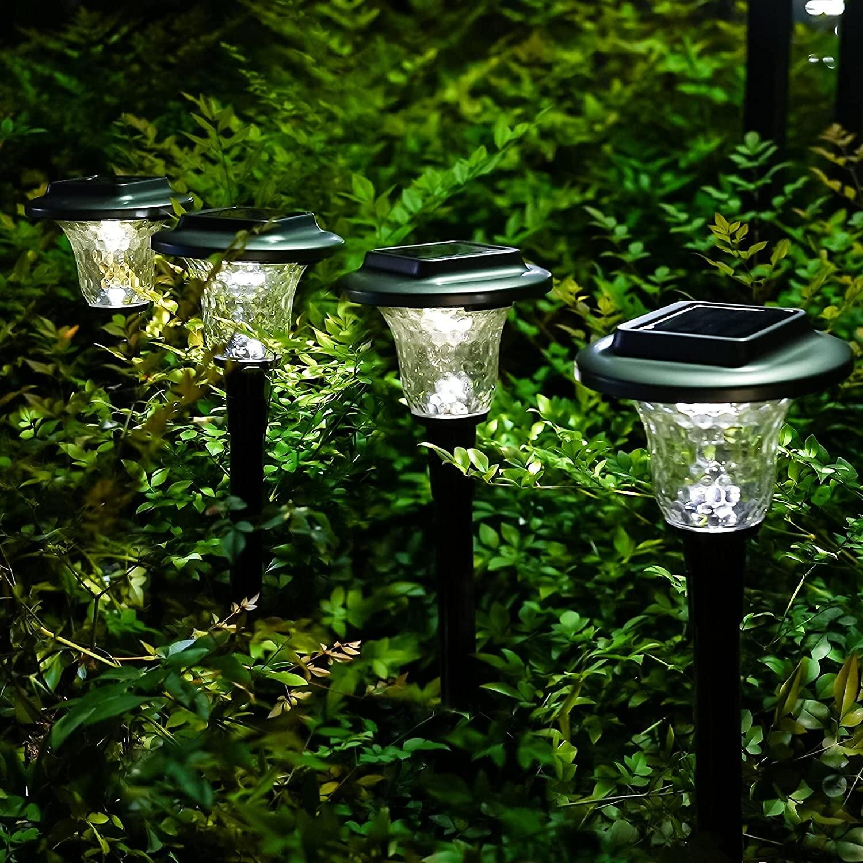 Solar Powered Waterproof Garden Lawn Light Outdoor Yard Landscape LED Decor Lamp