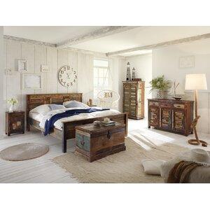 3-tlg. Schlafzimmer-Set Avadi, 180 x 200 cm von Massivum