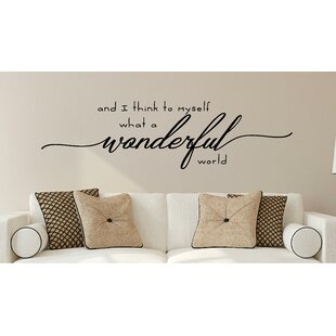 690456e1ea3d4 Wall Decal Quotes & Word Decals You'll Love in 2019 | Wayfair