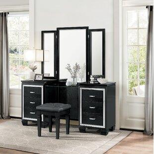 House of Hampton Boden Vanity with Mirror