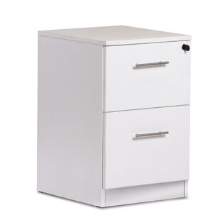 Haaken Furniture Pro X 2-Drawer Vertical Filing Cabinet