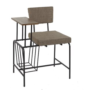 Read Reviews Ayana Mid-Century Gossip Side Chair by 17 Stories