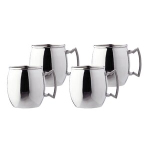 Steelii 16 Oz. Moscow Mule Mug (Set of 4) (Set of 4)