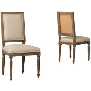 Las Ventanas Upholstered Dining Chair by Gracie Oaks New