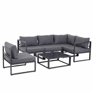 Clarkedale 5 Seater Corner Sofa Set By Sol 72 Outdoor