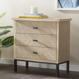 Eliza 3 Drawer Accent Chest by..