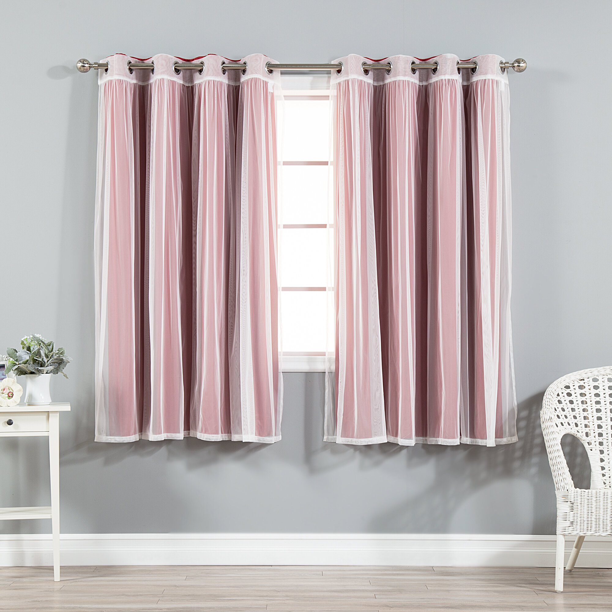 Willa Arlo Interiors Maryn Solid Blackout Curtain Panels & Reviews