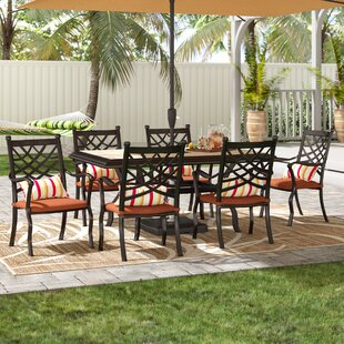 Bridgeton 7 Piece Dining Set with Cushion..