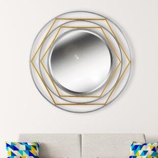 Huggard Accent Wall Mirror by Latitude Run