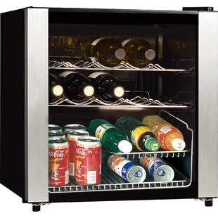 16 Bottle Midea Single Zone Freestanding Wine Cooler