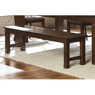 Rachel Wooden Dining Side Bench by Millwo..
