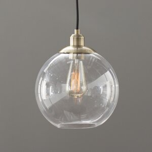 Gehry 1-Light Glass Pendant