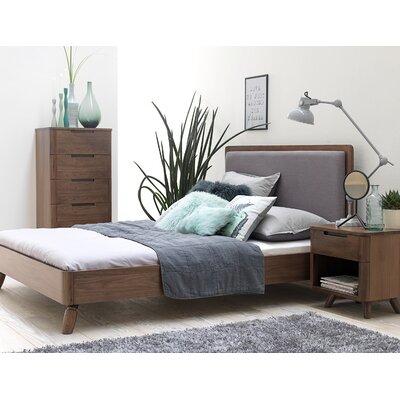 Cottle Upholstered Platform Bed Corrigan Studio Size: King Size