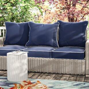 Loveseat & Sofa Patio Furniture Cushions You\'ll Love | Wayfair