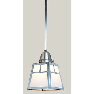 A-Line 1-Light Square/Rectangle Pendant by Arroyo Craftsman