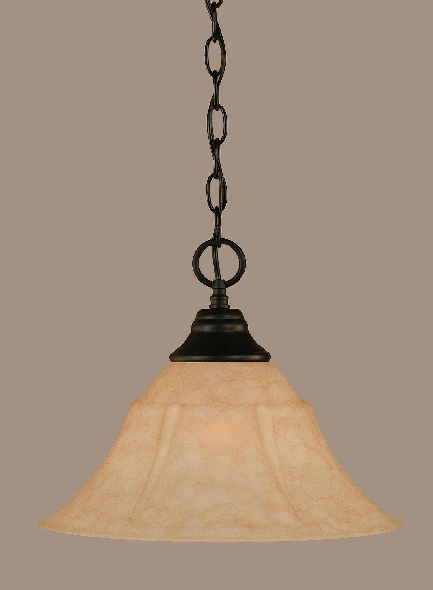 Red Barrel Studio Sinclair 1 Light Single Bell Pendant Wayfair