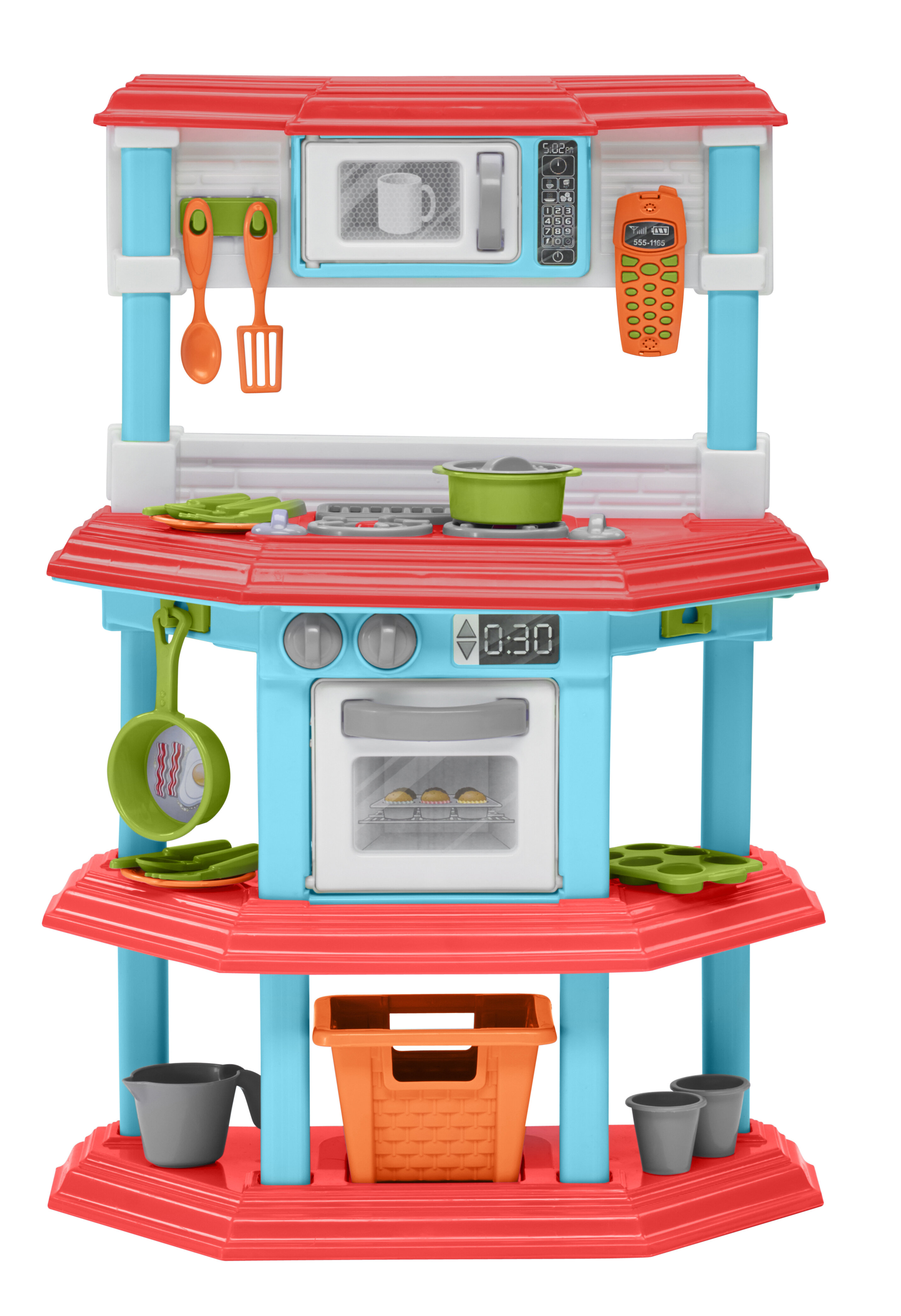American Plastic Toys 23 Piece My Very Own Gourmet Kitchen Set Reviews Wayfair