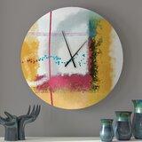 Futuristic Clock Wayfair