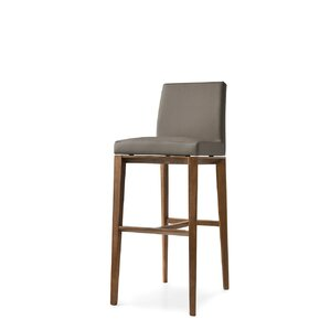 Bess 1446 Leather Chair by Calligaris
