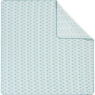 Diamond Aqua Picnic Blanket By Biederlack