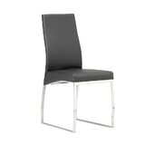 Nazaret Upholstered Side Chair in Gray (Set of 2) by Orren Ellis