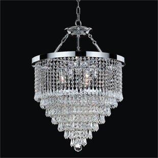 Glow Lighting Spellbound 3-Light Chandelier