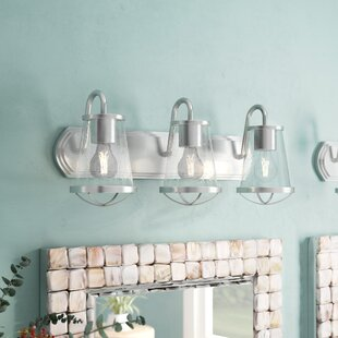 Bargain Regan 3-Light Vanity Light By Beachcrest Home