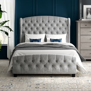 Ralls Queen Upholstered Panel Bed by Greyleigh