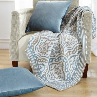 Tivoli Knitted Ez Matching Throw Blanket And Pillow Sham Set