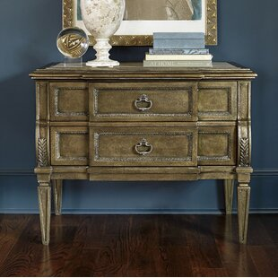 Sofitel 2 Drawer Nightstand by Astoria Grand