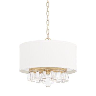 Willa arlo interiors reidar 4 light geometric pendant reviews tera 4 light drum pendant mozeypictures Choice Image