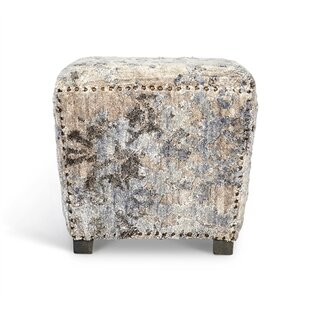Desiree Square Accent Stool by Interlude