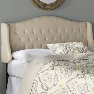 Read Reviews Bolivia Upholstered Wingback Headboard by Alcott Hill