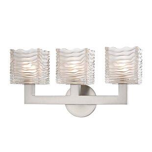 Mercer41 Teegan 3-Light LED Vanity Light