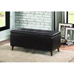 Williston Forge Alecia Upholstered Storage Bench