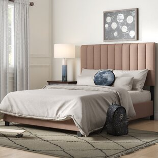 Benites Queen Upholstered Panel Bed by Brayden Studio