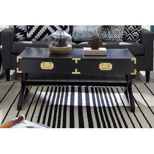 Mercer41 Cleorand Coffee Table with Storage