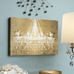 Dramatic Entrance GOLD Classic Art' Wrapped Canvas Print By Oliver Gal