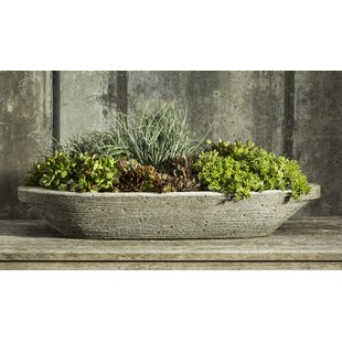 One Allium Way Jacinto Cast Stone Pot Planter