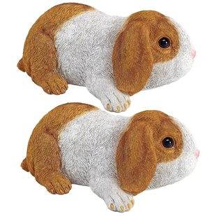 Holland, The Lop Earred Bunny Rabbit (Set Of 2) by Design Toscano