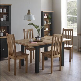 Aisling Compact Painted Dining Set With 4 Chairs