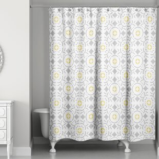 Maly Tile Single Shower Curtain