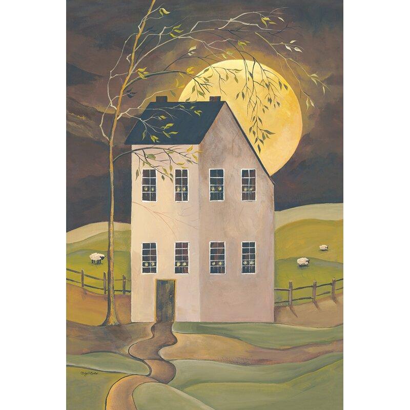 Toland Home Garden Spooky Hollow House 28 X 40 Inch House Flag Wayfair