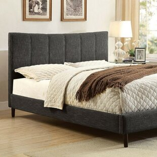 Inessa Contemporary Upholstered Panel Bed