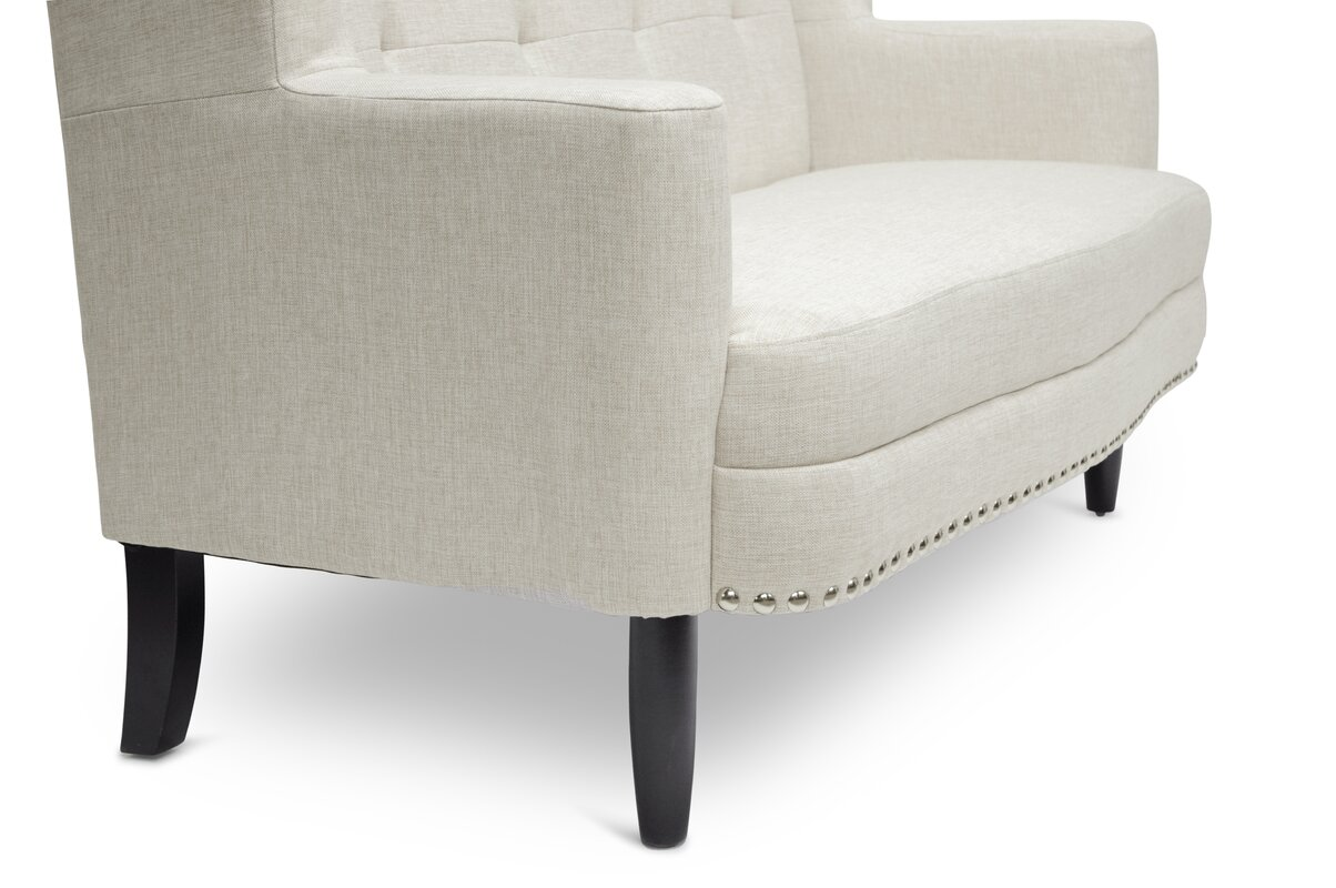 Baxton Studio Kerrigan Contemporary Settee