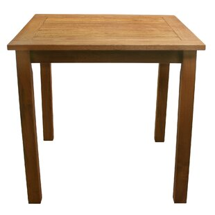 Red Barrel Studio Broadmeade Square Wood Side Table