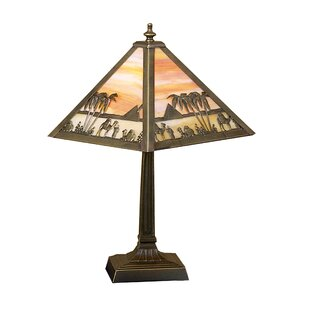 Camel Mission 18 Table Lamp