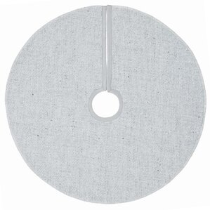 silver stitched tree skirt - Silver Christmas Tree Skirt