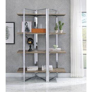 Meadowlakes Etagere Bookcase by Orren Ellis